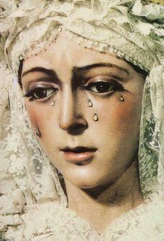 Virgin of Hope of Macarena in Seville, Spain