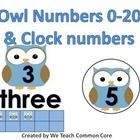 Great for an owl themed classroom or unit! This file contains owl posters with numbers 0-20. The owl has the number on it and then under the owl is...