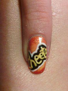 Cheetos :) Cheetos, Nail Care, My Nails, Class Ring, Yup, Nail Manicure, Nail Repair