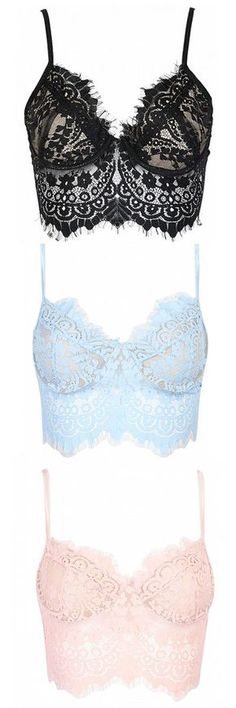 add some more lace croptops to your wardrobe find them in choies.com!