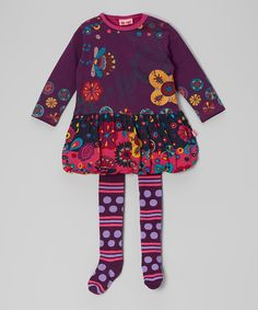Dareen Bubble Dress & Caritas Tights - Infant & Toddler | Daily deals for moms, babies and kids