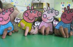 Peppa Pig crafts