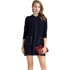 Women's Casual Long Sleeve Knitted Cardigan Loose Coat Pockets Sweater ** You can get additional details at the image link. (This is an affiliate link) #Sweaters