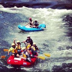 BUCKET LIST: Hard Core River Rafting!! (: