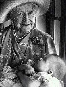 Queen Mother with Prince William