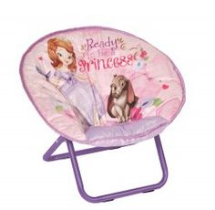 This Sofia saucer chair is great for cuddling up and reading books.