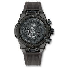 Big Bang Unico All Black Sapphire 45mm