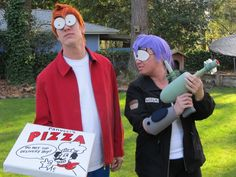 This Halloween, grab your significant other and dress up as a popular cartoon couple!