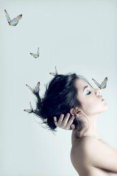 Selfportrait by Alba Soler