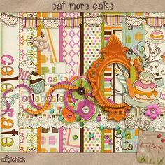 Eat More Cake Kit by ETC by Danyale  **Lucy's First Birthday pictures???