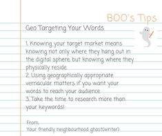 Have you considered geographical differences, when it comes to words, and their impact on content marketing?