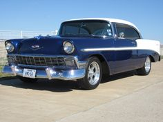 Bel Air Car, 1956 Chevy Bel Air, Chevy Nomad, Ride 2, Dream Garage, Car Stuff, Drag Racing, Corvette, Muscle Cars