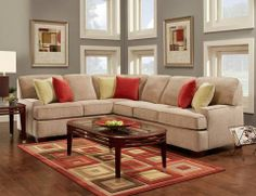 Devlin Sectional Couch – Knox Furniture  www.knoxfamilyfurniture.net