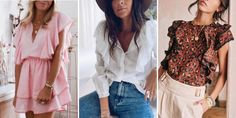Marie Claire, Ruffle Blouse, Sewing, Long Sleeve, Sleeves, Tops, Women, Inspiration, Dressing