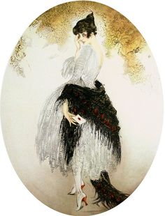 Louis Icart, The Letter. We love art at Renaissance Fine Jewelry. Celebrate all  of life's moments www.vermontjewel.com. We treasure the knowledge we gain from the gift of artistic legends.