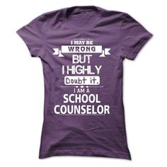 I am a School Counselor
