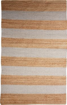 Crafted in an easy care combination of jute and wool, this natural reversible…