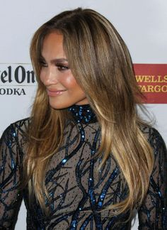 Jennifer Lopez Red Carpet 2014 GLAAD Media Awards ,19 , FabHype hairstyle