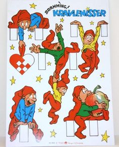 I am very fond of my several Nisse paper cuts. Hung by a ...