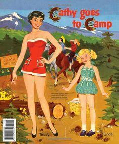 Cathy Va Al Camp Munecas De Papel Barbara Briggs Ernst Amazon ComPaper DollsCampsBooksPaper