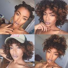 @curlssforthegirlss Bantu fun this morning!  #Hair2mesmerize #naturalhair #healthyhair  #naturalhairjourney #naturalhairstyles #blackhairstyles #teamnatural #transitioning
