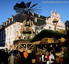 Mercado de Natal de Tréveris (em alemão Trier) na Alemanha