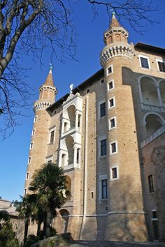 Ducal Palace of Urbino .Phtograph by Mariachiare Conte