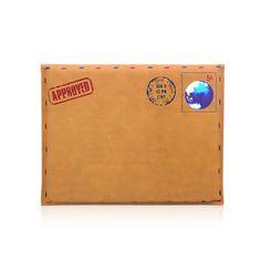 Hot Envelope Leather Case Bag for iPad 2 / the new iPad / iPad Mini - iPad 2 Cases - iPad