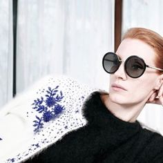 Jessica Chastain poses for Prada pre-fall 2017 accessories campaign in Milan (334796)