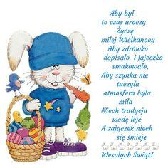 Kartka świąteczna 🌼🐰🐑🐣🐓🌷🐰🌼🐑🐣🐓🌷 Emoticon, Easter Crafts, Decor Crafts, Winnie The Pooh, Smurfs, Disney Characters, Fictional Characters, Happy Birthday, Teddy Bear