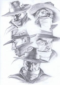 BENDIS! - The Shadow / Lamont Cranston Model Sheets by Alex...