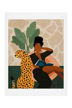Arte Latina, Arte Black, Black Art Painting, Dibujos Cute, Black Girl Art, Botanical Wall Art, Safari Animals, Jungle Safari, Canvas Prints