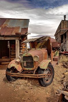 Rusted charm.