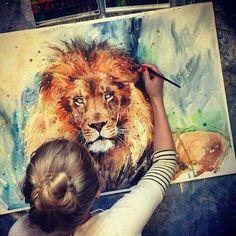 lion. majestic.