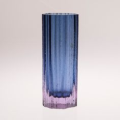 TAPIO WIRKKALA - Glass vase '3509' for Iittala, Finland. [h. 23 cm] Glass Design, Design Art, Interior Design, Glass Collection, Scandinavian Design, Finland, Glass Art, Retro, Antiques