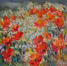 Buy poppies, Oil painting by Sergey Yatnov on Artfinder. Discover thousands of other original paintings, prints, sculptures and photography from independent artists.