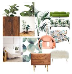 """home"" by pipillotta on Polyvore featuring interior, interiors, interior design, home, home decor, interior decorating, Old Hickory Tannery, Moooi, Jonathan Adler and West Elm"