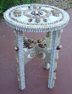 Shell Crafts - Seashell Crafts - Seashell Tables - Seashell ...477 x 622 | 89 KB | coveredwithshells.com