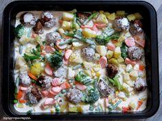 Bei diesem leckeren Gericht kann man je nach persönlicher Vorliebe das Gemüse der eigenen Wahl nehmen.  Im Grunde könnt Ihr jedes Gemüse, w...