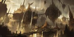 Floating Ruins by Ninjatic.deviantart.com on @deviantART