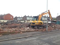 Another site being prepared for 9 new homes. #architecture