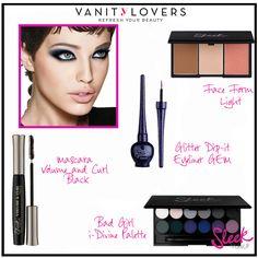 Ottenete un affascinante #Makeup da Bad Girl con i prodotti #SleekMakeUp http://www.vanitylovers.com/brands/sleek-makeup.html?utm_source=pinterest.com&utm_medium=post&utm_content=vanity-sleek-makeup&utm_campaign=pin-mitrucco