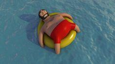 Floating. www.getsbucket.com