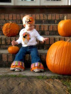Lil' Turkey Thanksgiving Onesie...adorable!