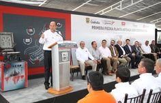 El Gobernador Rubén Moreira Valdez puso en marcha la construcción de la Planta Arteaga de Lear Corporation, la séptima en Coahuila, en la que se erogarán 50 millones de dólares y generará mil 200 empleos directos.