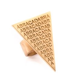 #ABRACADABRA RING