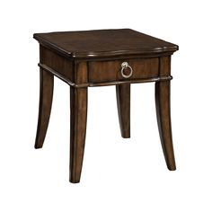 Broyhill Elaina Cherry Single Drawer End Table