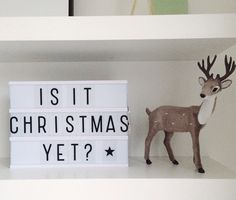 Christmas yet?
