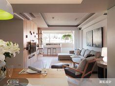 房子本身有著極佳的景色及採光,往窗外看去就是大屯山的自然風景,因此將景致帶進居家空間中,無論待在哪個角落,都猶如身處在大自然中舒適自在。  案例介紹:http://www.searchome.net/article.aspx?id=19289