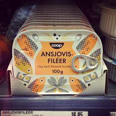 This makes me want anchovies. #swedish #design
